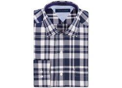 Tommy Hilfiger - Navy Check Dress Shirt