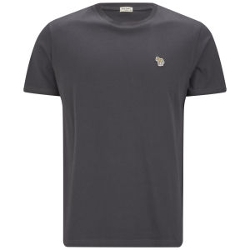 Paul Smith Jeans - Short Sleeved Crew Neck Zebra Cotton T-Shirt