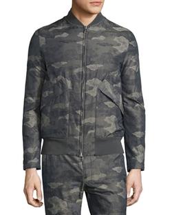 Helmut Lang  - Jacquard Camo-Print Nylon Jacket
