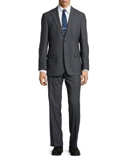 Hugo Boss - Paolini Windowpane Check Suit