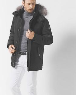 Michael Kors Mens - Fur-Trimmed Parka Jacket