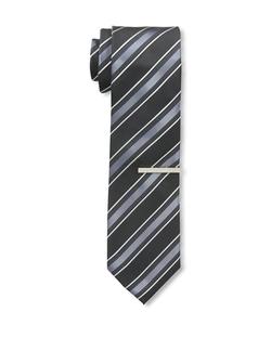 Little Black Tie - Dusk Stripe Tie