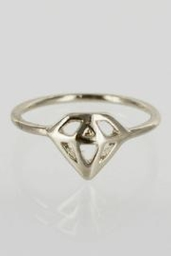 Winky Designs - Stackable Diamond Ring