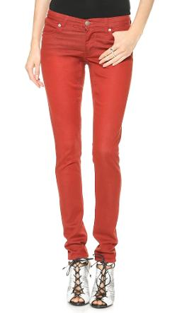 Cheap Monday  - Slim Rocking Red Jeans