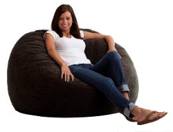 Comfort Research - Large Fuf in Comfort Suede Bean Bag Chair