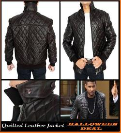High Quality Authetic Quilted Leather - Kevin Hart Quilted Jacket