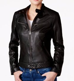 Rachel Rachel Roy - Faux-Leather Moto Jacket