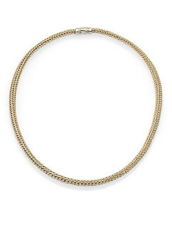 John Hardy  - Classic Chain Reversible Necklace