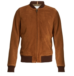 A.P.C.   - Patty Suede Bomber Jacket