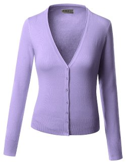 Doublju - Basic Knitting Sweater Cardigan