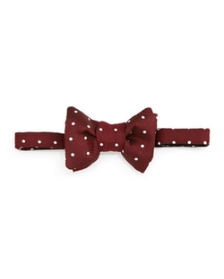 Tom Ford - Polka-Dot Jacquard Bow Tie
