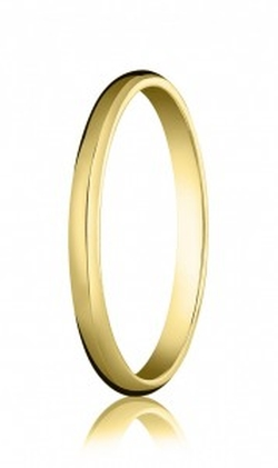 Sarraf - High Polished Wedding Band Ring