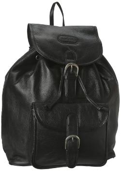 Leatherbay  - Leather Backpack with Single Pocket