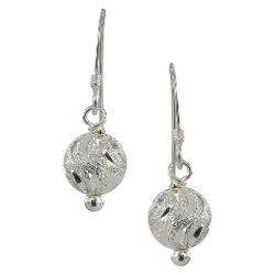 Target - Laser Ball Dangle Earrings