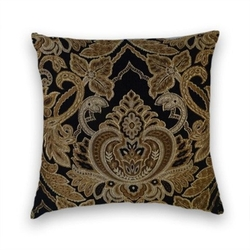 Cody & Cooper Designs - Floral Abstract Decorative Throw Pillow