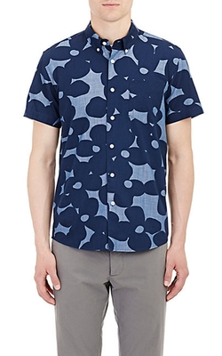 Saturdays Surf NYC - Chambray Short Sleeve Shirt