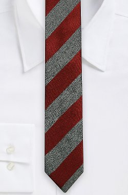 Boss - Silk Diagonal Stripe Tailored Tie