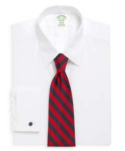 Brooks Brothers - Milano Fit Spread Collar French Cuff Dress Shirt