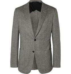 Dunhill - Fitzrovia Slim-Fit Herringbone Tweed Blazer