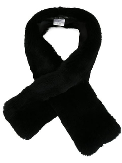 Salvatore Ferragamo - Rabbit Fur Scarf