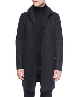 Theory  - Belvin Wool-Blend Car Coat