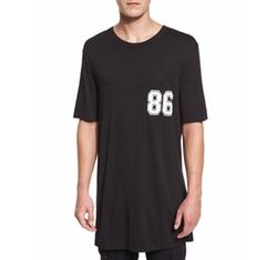 Helmut Lang - Varsity Logo Oversized T-Shirt