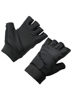 Hnb - Black Hawk Half Finger Gloves