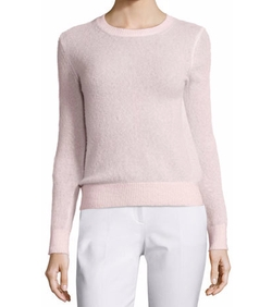 Michael Kors - Collection Long-Sleeve Jewel-Neck Sweater