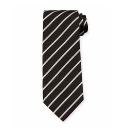 Tom Ford - Neat Diagonal-Stripe Silk Tie