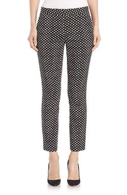 Diane von Furstenberg - Genesis Dot-Print Pants
