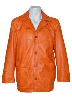 Smart Range - Leather Reefer Jacket