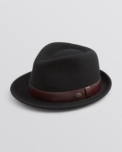 Bailey of Hollywood - Leather Band Yates Fedora Hat