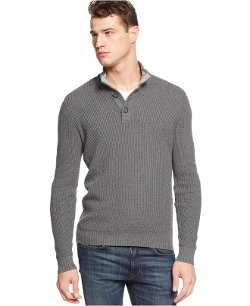 American Rag - Textured Mock-Neck Sweater