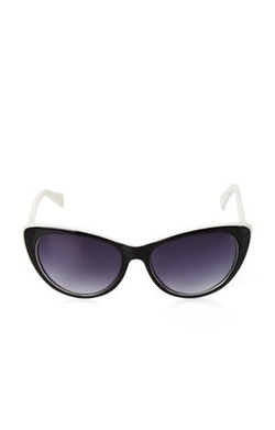 BCBGMaxazria - Retro Long Cat-Eye Sunglasses