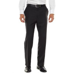 Apt. 9 - Modern-Fit Sharkskin Dress Pants