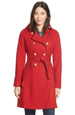 Guess - Wool Blend Trench Coat