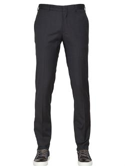 Daniele Alessandrini - 17cm Wool And Cotton Trousers