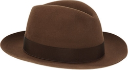 Borsalino - Beaver Fur Felt Fedora Hat