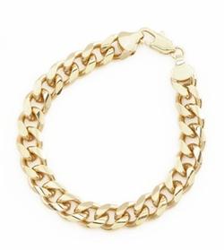 Doublebeez Jewelry - Cuban Curb Chain Link Bracelet