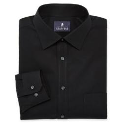 Stafford - Easy-Care Cotton Broadcloth Dress Shirt