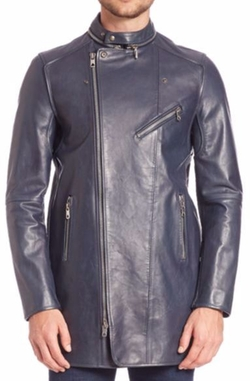 Diesel Black Gold  - Lartefice Leather Biker Jacket