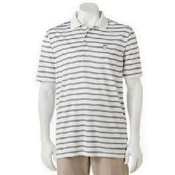 Nick Faldo  - Striped Performance Polo - Men