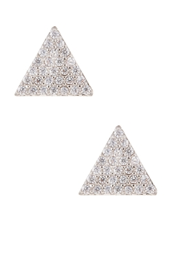 Nordstrom Rack - Triangle Pave Stud Earrings