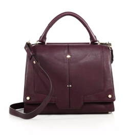 Luana Italy - Michelle Leather Satchel Bag