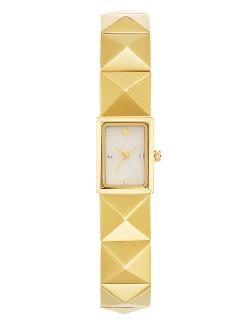Kate Spade New York  - Ladies Cobble Pyramid Strap Watch