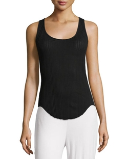 Skin City - Ribbed Racerback Tank Top