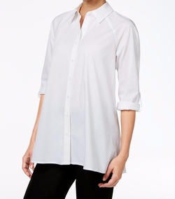 Style & Co. - Swing High-Low Shirt