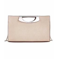 Calvin Klein - Saffiano Leather Convertible Clutch Bag
