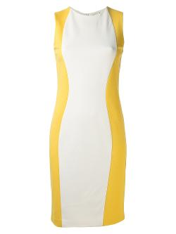 Piazza Sempione  - Color Block Fitted Dress