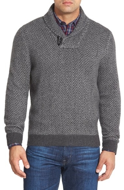 John W. Nordstrom - Shawl Collar Cashmere Sweater